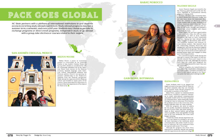 Spread of the Deadline | Study Abroad