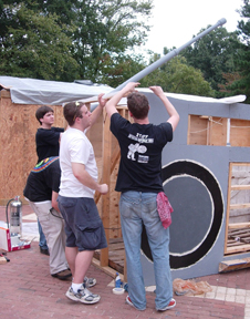 DJs at shack
