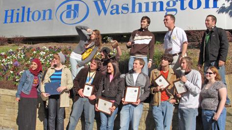 Group photo in Washington, DC