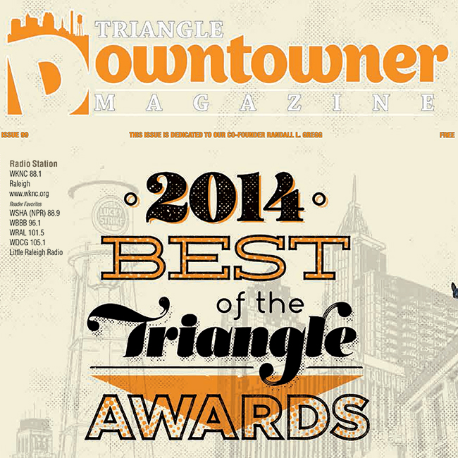 Triangle Downtowner May 2014 cover