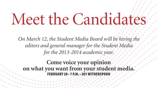 Candidate Forum Slide