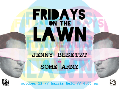 Fridays on the Lawn poster