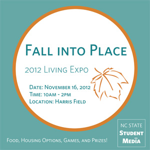 Student Media Fall Living Expo