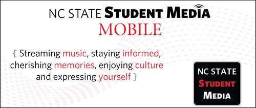 ad for Student Media mobile ap