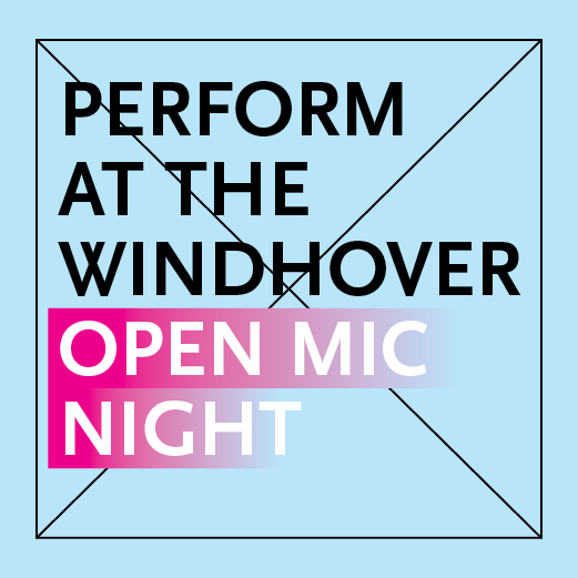 Windhover open mic ad