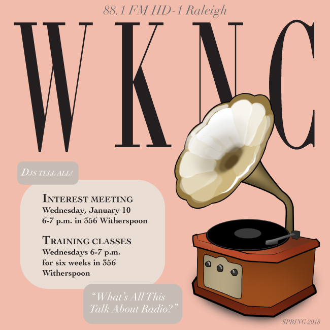 WKNC spring DJ interest meeting