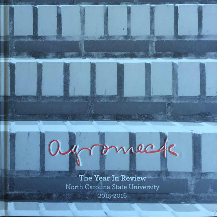 Agromeck yearbook cover