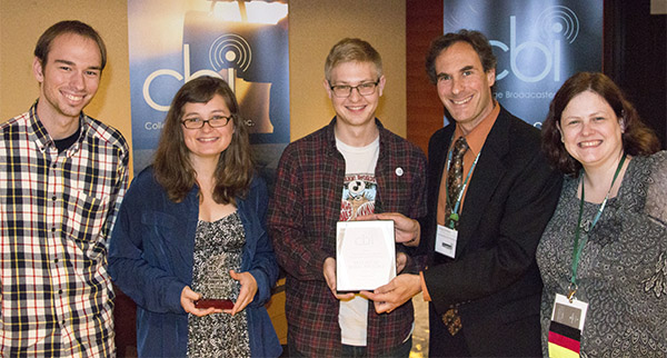 Students receive award for Best Social Media