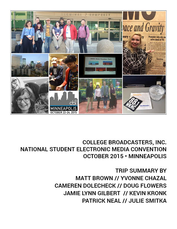 CBI Minneapolis trip summary