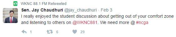 Chaudhuri tweet