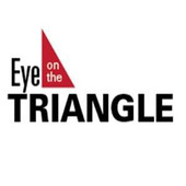 Eye on the Triangle logo